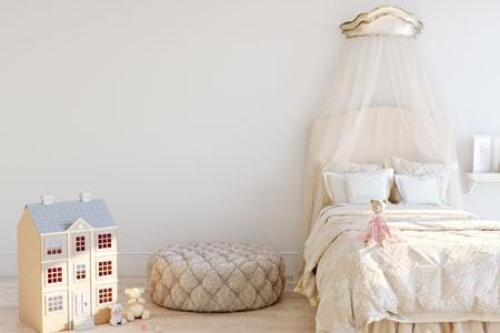 Ciel de lit pour chambre des enfants