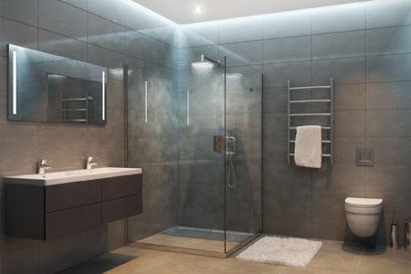 Une douche a italienne ultra design